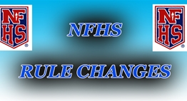 NFHS Rule Changes slide.