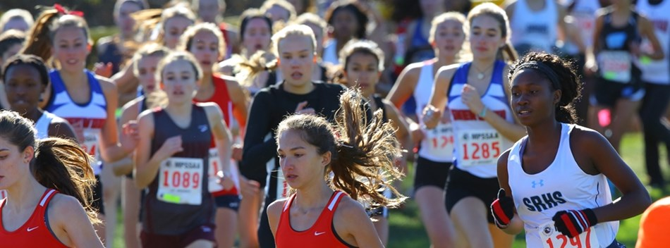 Another picture from the 2016 Girls State Championship Cross Country Meet.