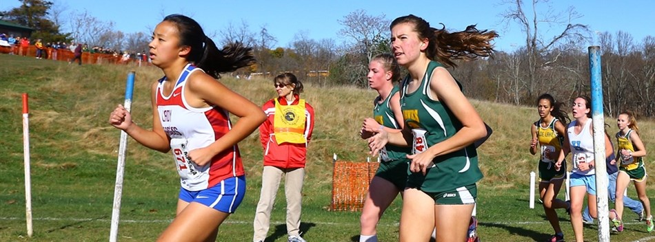 Picture from Girls State Championship Cross Country Meet 2015