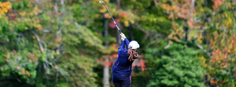 Picture of another female player from State Golf Championships 2015