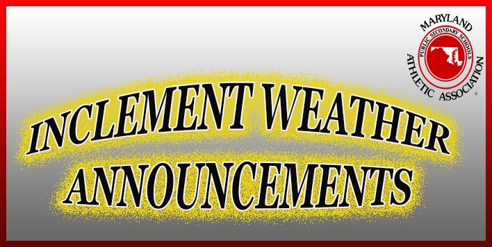 Inclement Weather Announcements