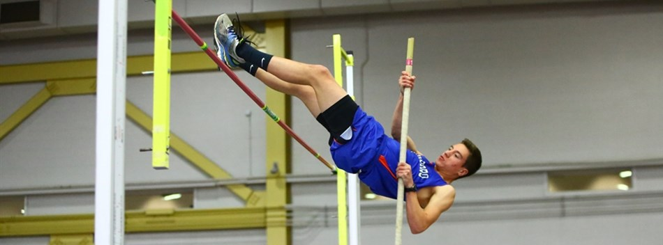 Picture from the Boys State Indoor T&F Championships 2016.