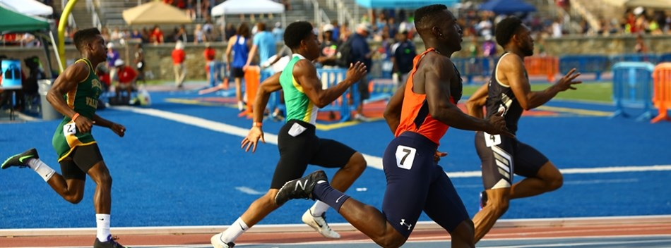 A picture from the Boys State Track & Field Championships 2016.