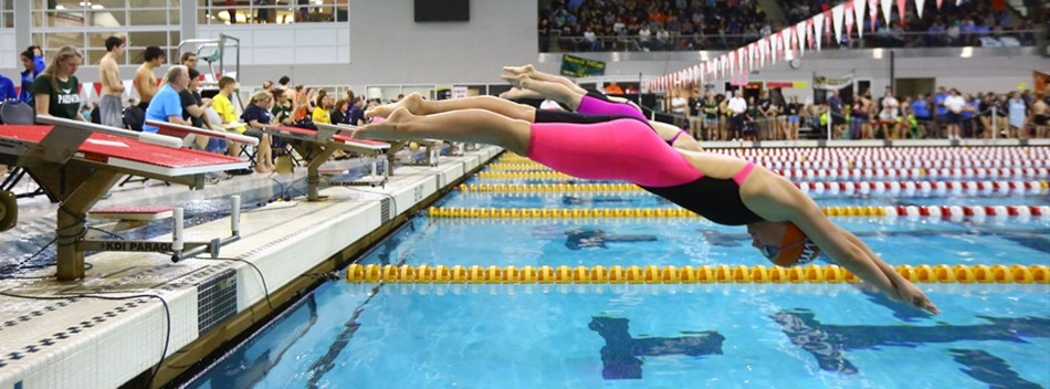 Picture from Girls State Swimming Championships 2016
