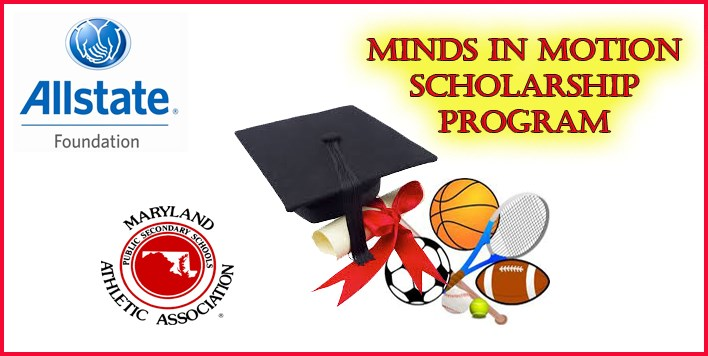 MPSSAA Minds In Motion Scholarship program slide.